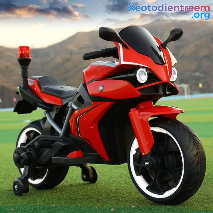 Xe mô tô điện trẻ em Police 3288 14