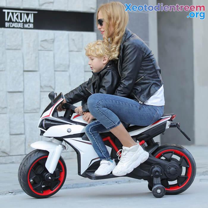 Xe mô tô điện trẻ em Police 3288 2