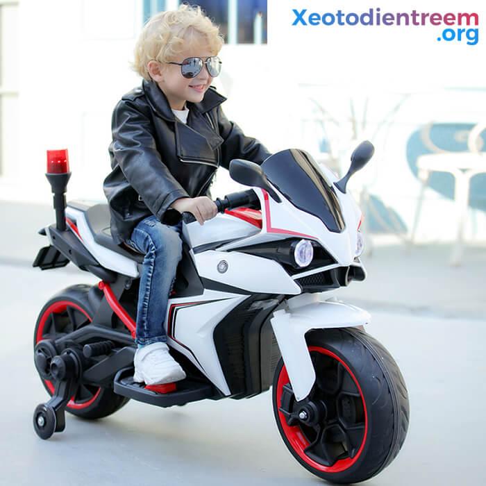 Xe mô tô điện trẻ em Police 3288 3