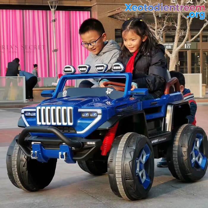 Ô tô địa hình trẻ em 2 chỗ ngồi BDQ-1200 14