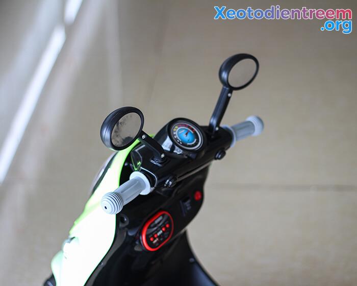 Xe máy điện đồ chơi cho bé Vespa 606 10