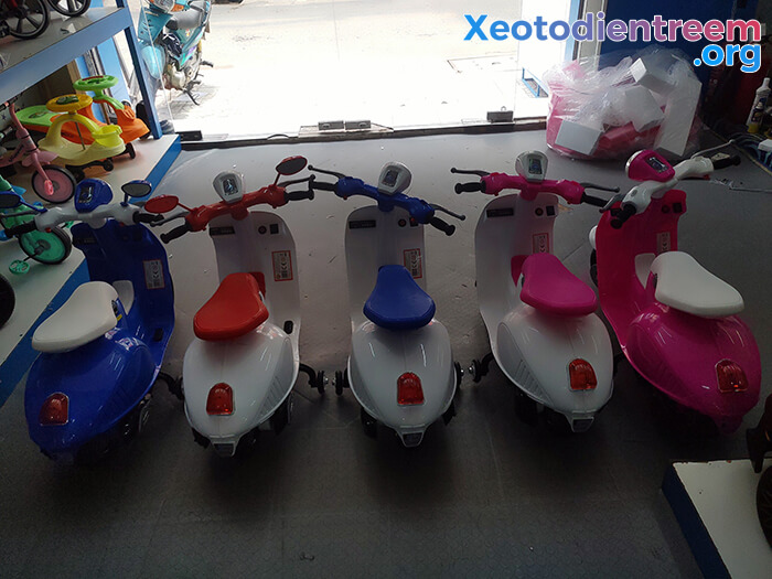 Xe máy điện trẻ em Vespa GVC-531 4