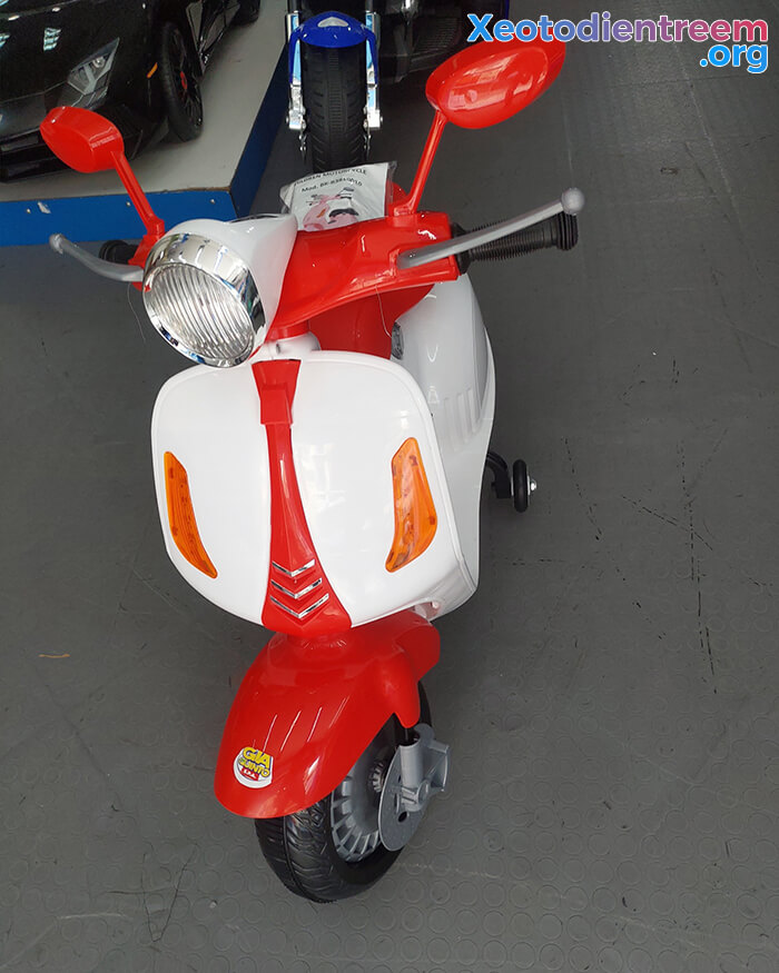 Xe máy điện trẻ em Vespa GVC-531 9