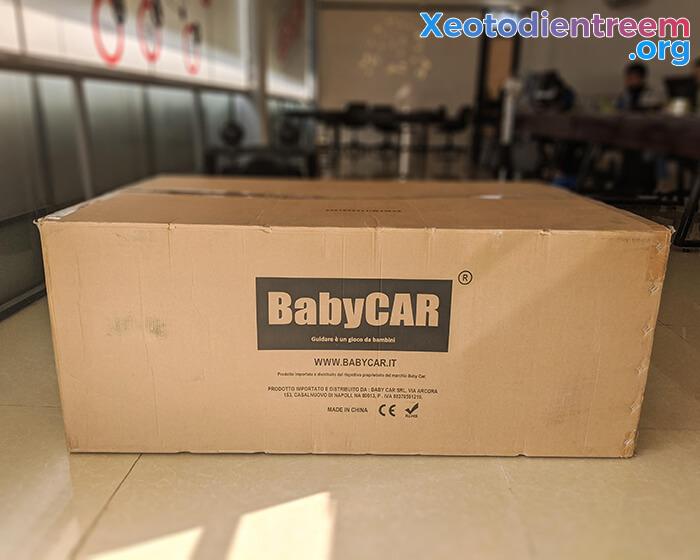 Xe ô tô địa hình S2588 thương hiệu BabyCar của Ý 10