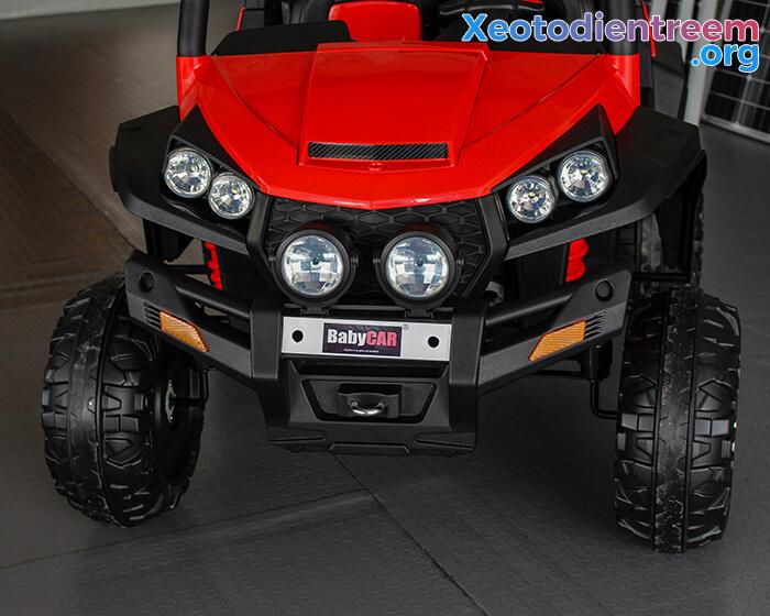 Xe ô tô địa hình S2588 thương hiệu BabyCar của Ý 11