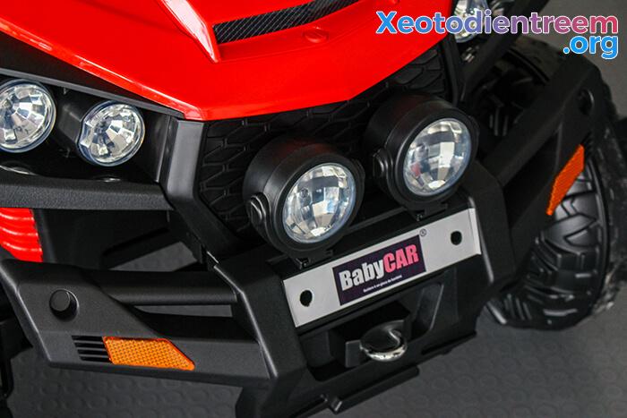 Xe ô tô địa hình S2588 thương hiệu BabyCar của Ý 12