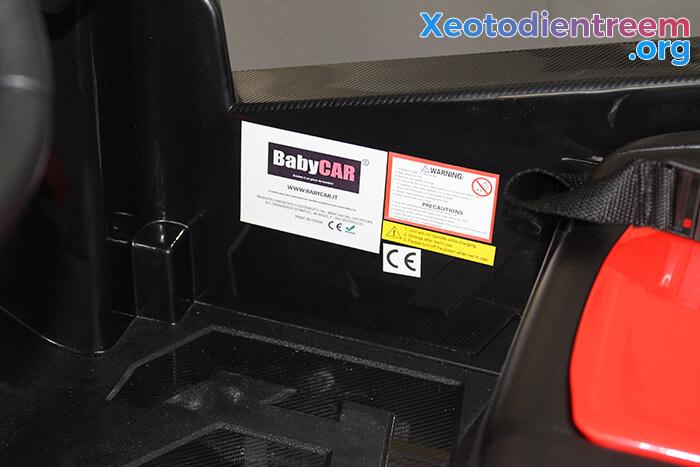 Xe ô tô địa hình S2588 thương hiệu BabyCar của Ý 16