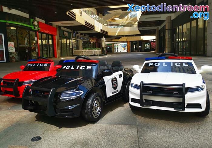 Ô tô điện cho bé Police JC-666 1