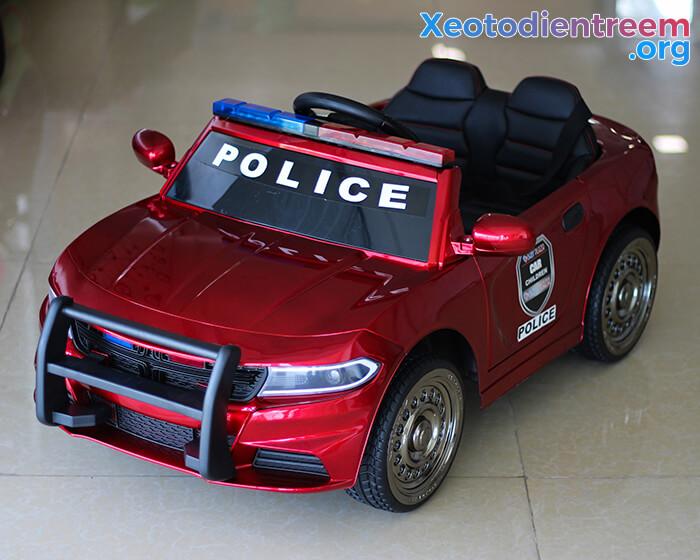 Ô tô điện cho bé Police JC-666 10