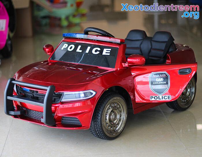 Ô tô điện cho bé Police JC-666 11