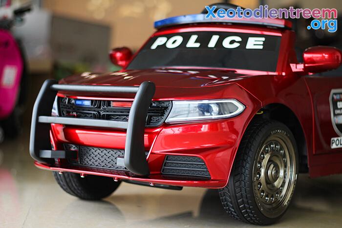 Ô tô điện cho bé Police JC-666 16