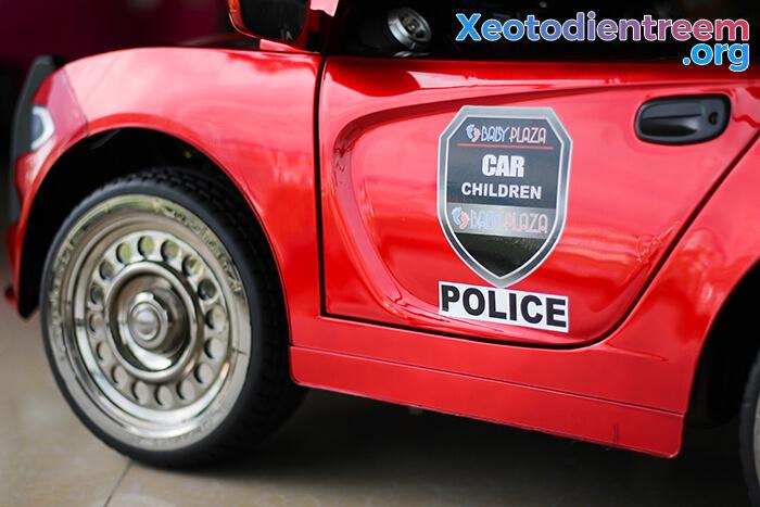 Ô tô điện cho bé Police JC-666 18
