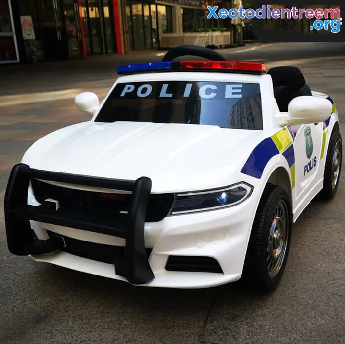 Ô tô điện cho bé Police JC-666 2