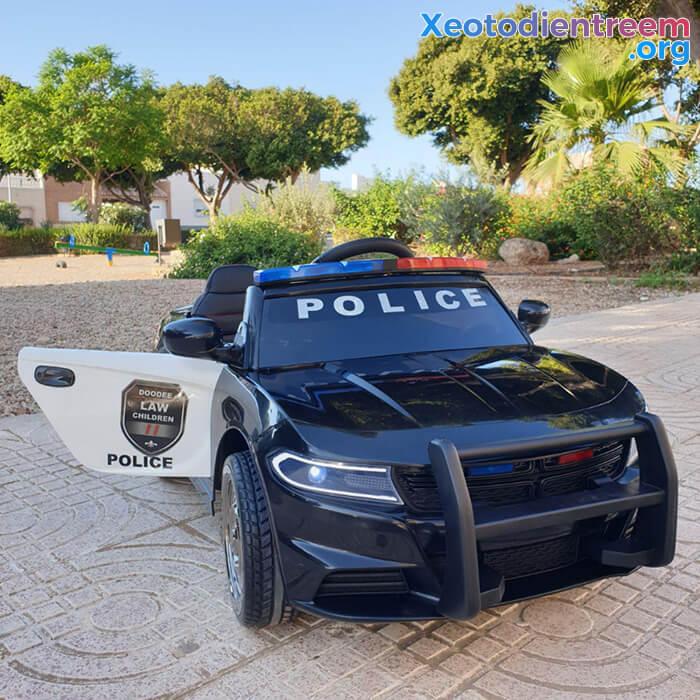 Ô tô điện cho bé Police JC-666 4