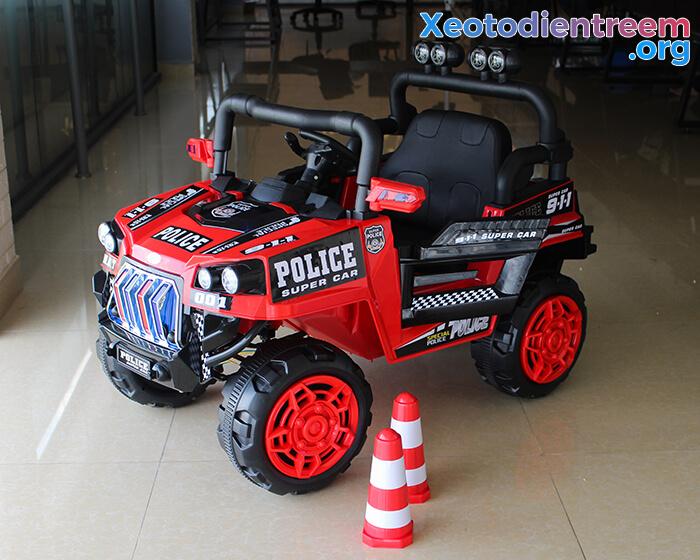 Ô tô trẻ em chạy điện Police 5168 1