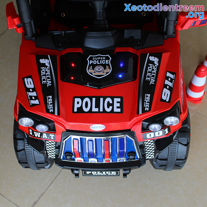 Ô tô trẻ em chạy điện Police 5168 10