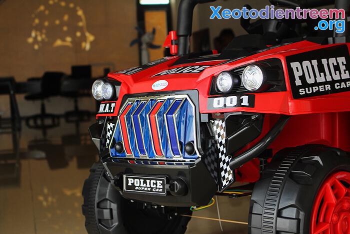Ô tô trẻ em chạy điện Police 5168 11