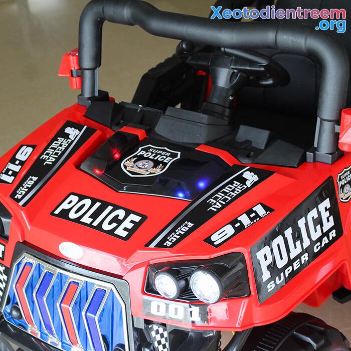 Ô tô trẻ em chạy điện Police 5168 12