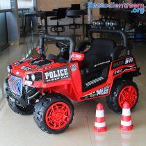 Ô tô trẻ em chạy điện Police 5168