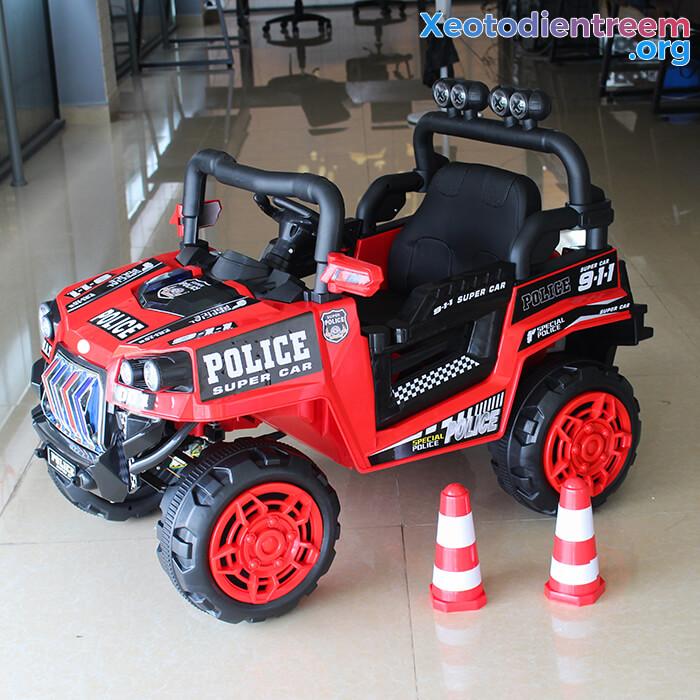 Ô tô trẻ em chạy điện Police 5168 3