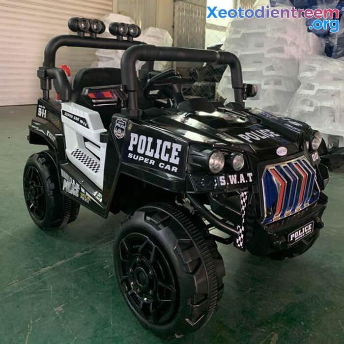 Ô tô trẻ em chạy điện Police 5168 7