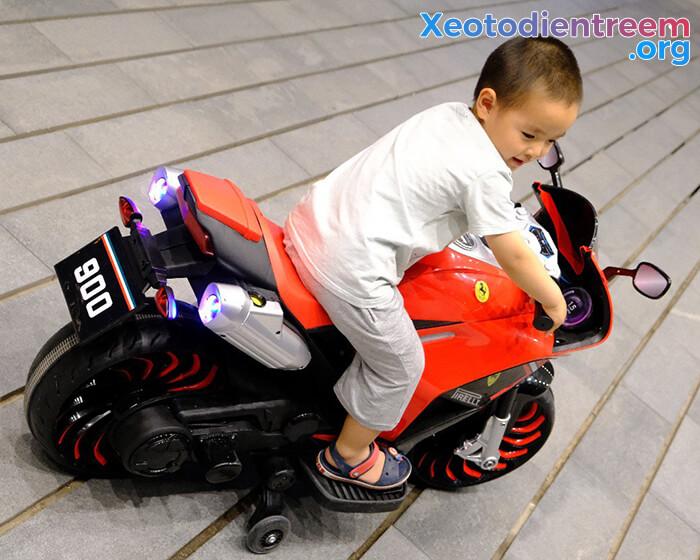 Xe máy cho trẻ em XM-900 4