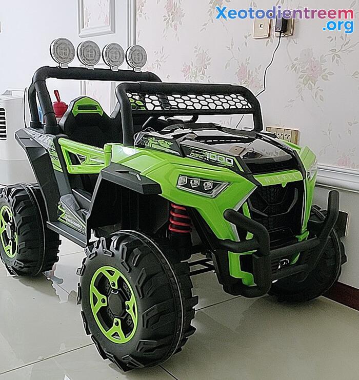 Xe oto Jeep chạy điện cho bé NEL-918 1