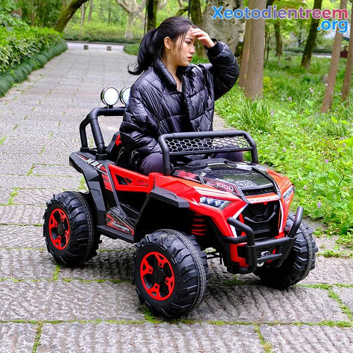 Xe oto Jeep chạy điện cho bé NEL-918 10