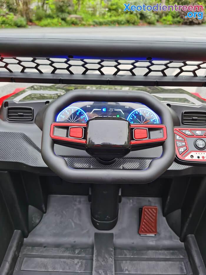 Xe oto Jeep chạy điện cho bé NEL-918 15