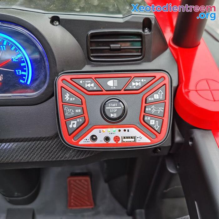 Xe oto Jeep chạy điện cho bé NEL-918 16