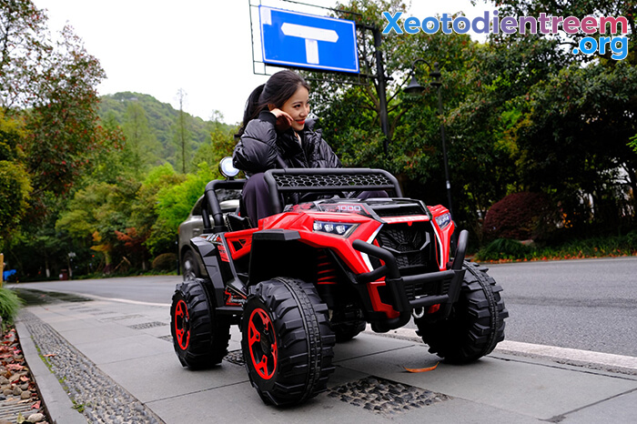 Xe oto Jeep chạy điện cho bé NEL-918 9