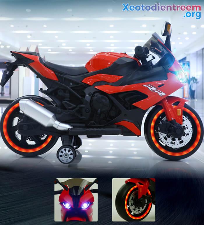 Xe mô tô điện cho bé S1000RR 12