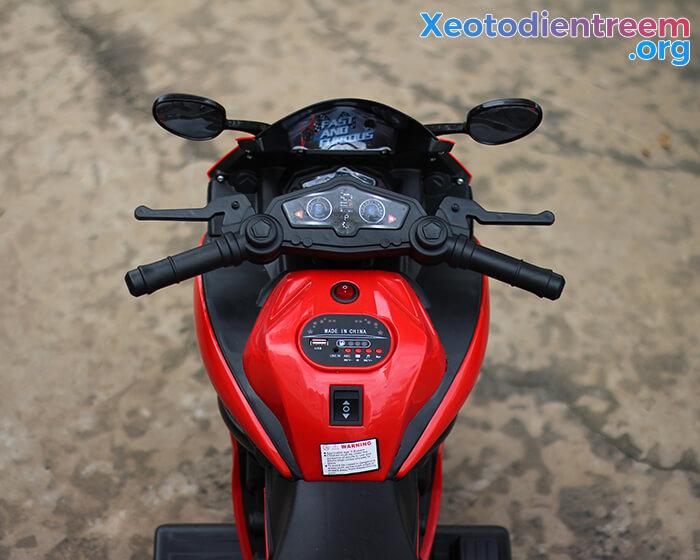 Xe moto điện cho trẻ em BJQ-R8 10