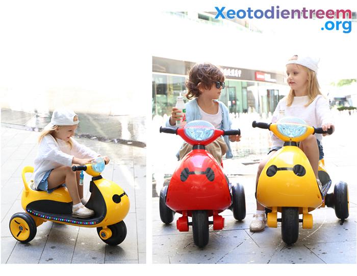 Mô tô điện cho trẻ siêu đẹp LS-6688 1