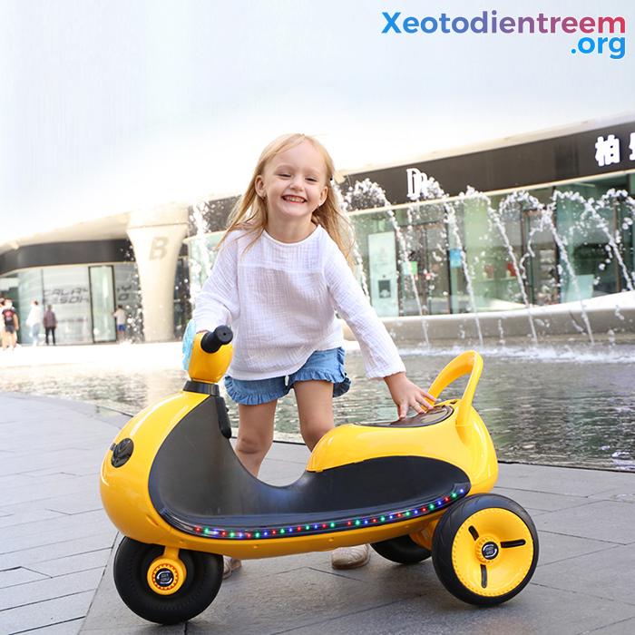 Mô tô điện cho trẻ siêu đẹp LS-6688 10