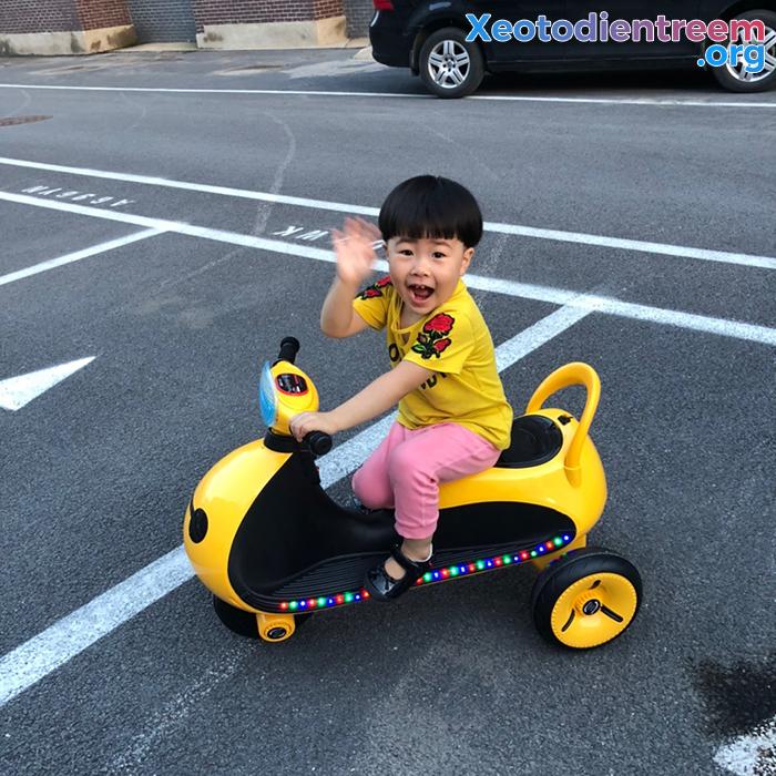 Mô tô điện cho trẻ siêu đẹp LS-6688 12