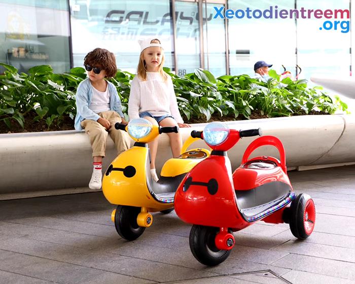 Mô tô điện cho trẻ siêu đẹp LS-6688 3