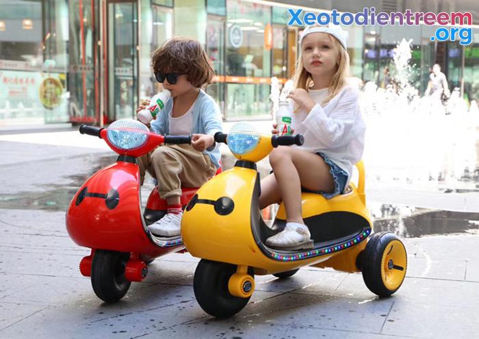 Mô tô điện cho trẻ siêu đẹp LS-6688 4