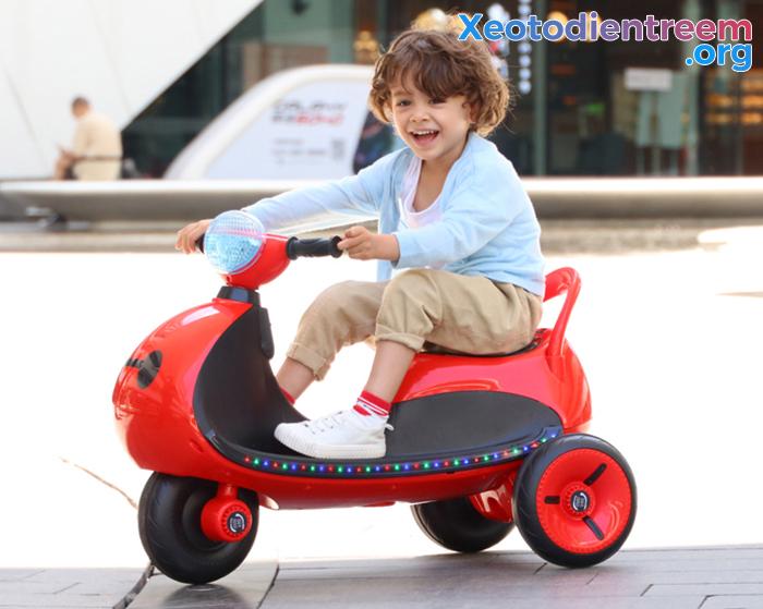 Mô tô điện cho trẻ siêu đẹp LS-6688 7