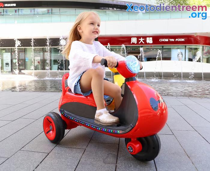 Mô tô điện cho trẻ siêu đẹp LS-6688 9