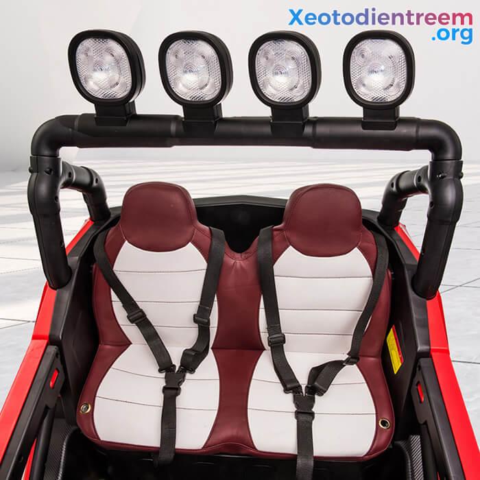 Xe oto điện cho bé CL-908 ghế da cao cấp 11