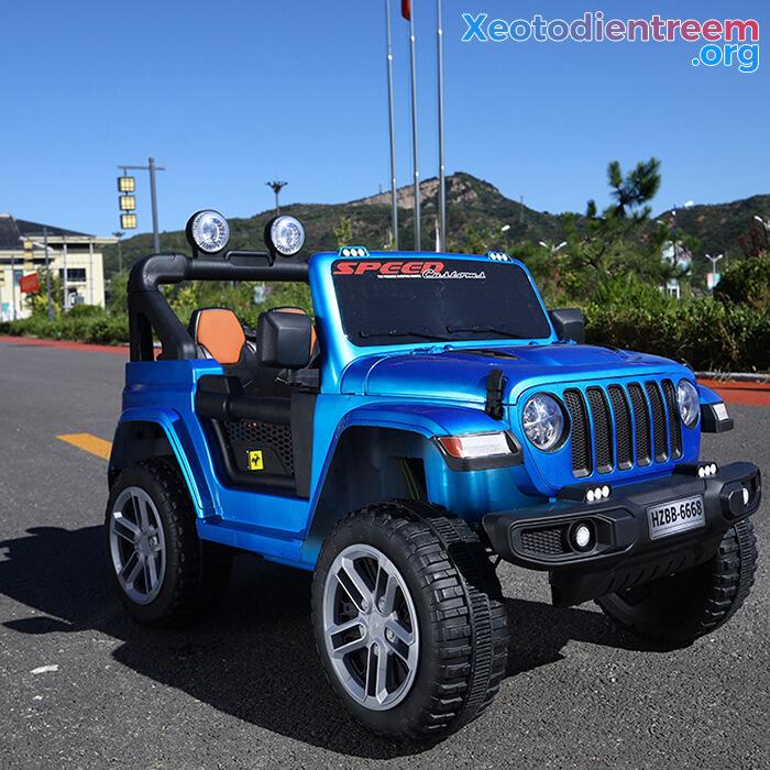 Xe ô tô chạy điện trẻ em HZBB-6668 5