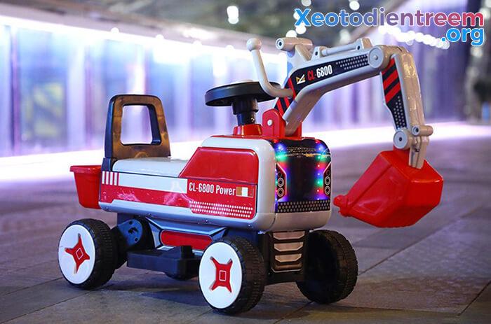 Máy xúc điện trẻ em CL-6800 12