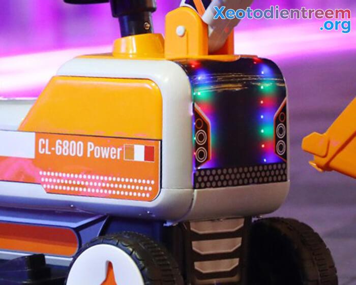 Máy xúc điện trẻ em CL-6800 14