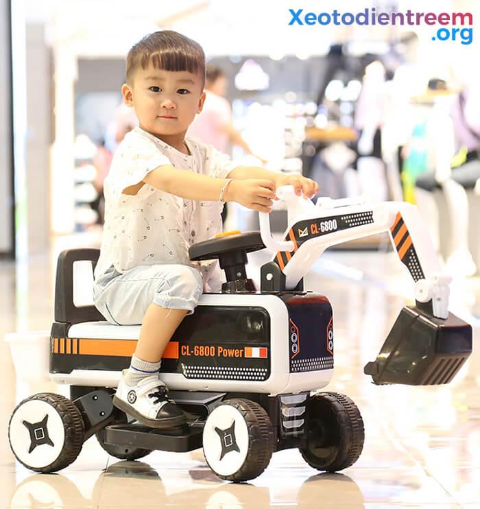 Máy xúc điện trẻ em CL-6800 4