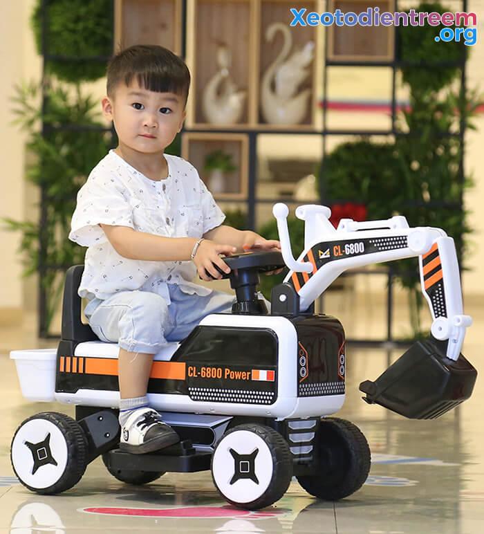 Máy xúc điện trẻ em CL-6800 6