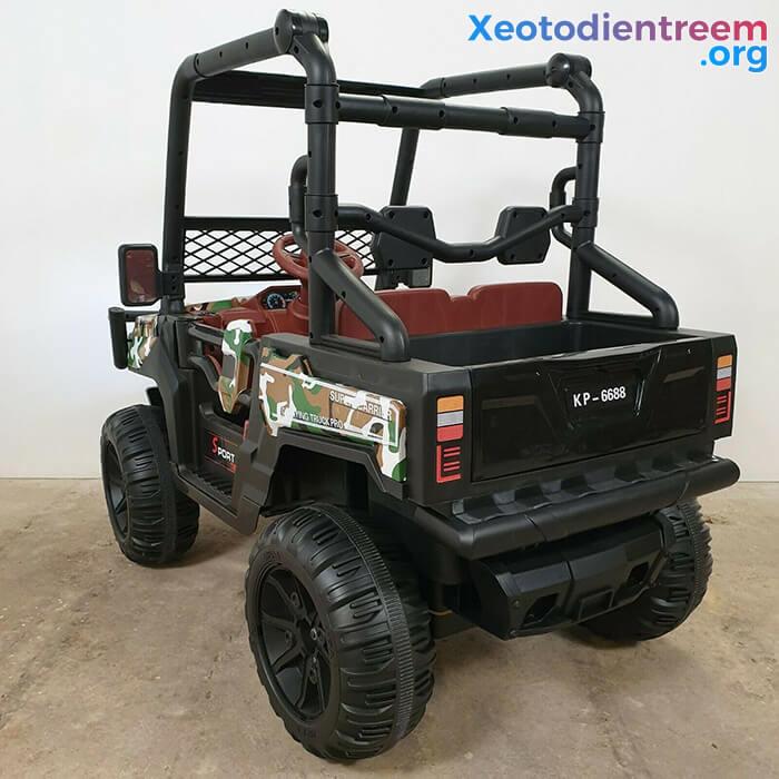 Ô tô điện trẻ em 4 động cơ KP-6688 14