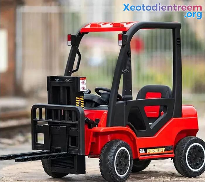 Xe nâng chạy điện cho bé DLS-08 6