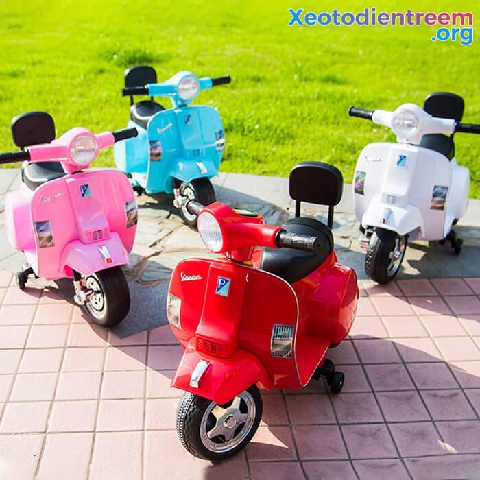 Xe máy điện cho bé Vespa A008 PX150 1