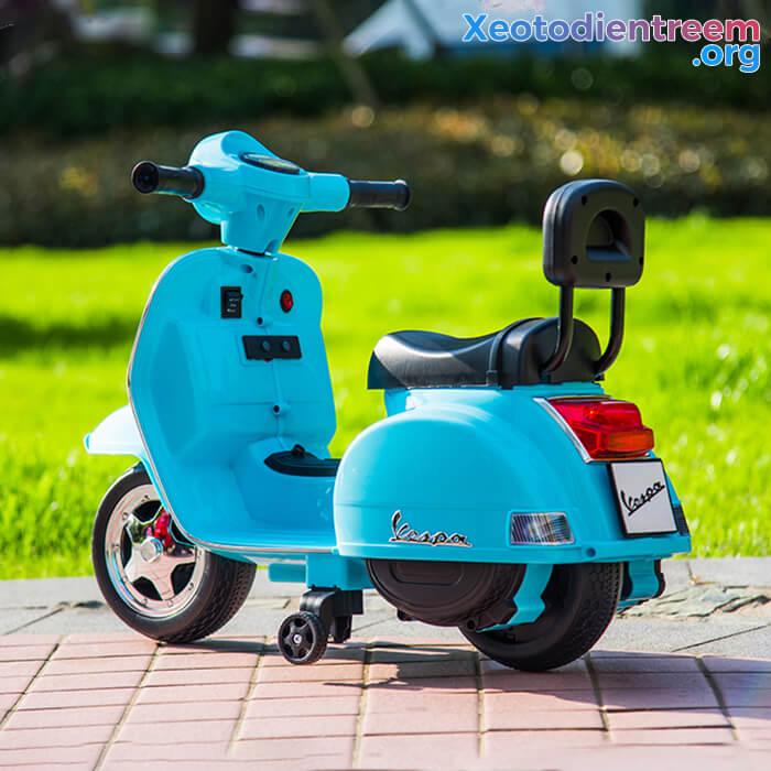 Xe máy điện cho bé Vespa A008 PX150 4